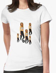 BeachBlonde Womens Fitted T-Shirt