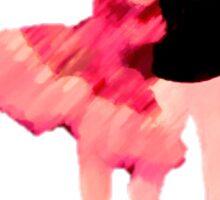 Ballet (Cinderella and her Prince) Sticker