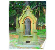 Memorial by Tree - Camperdown Cemetery NSW Poster