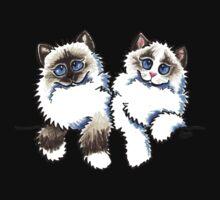 Pair of Dolls   Ragdoll Cats Kids Tee