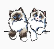 Pair of Dolls | Ragdoll Cats Baby Tee
