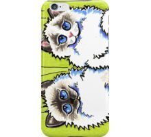 Pair of Dolls | Ragdoll Cats iPhone Case/Skin