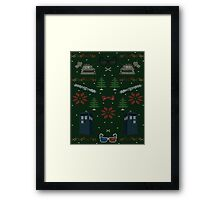 Ugly Doctor Christmas Sweater Framed Print