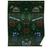 Ugly Doctor Christmas Sweater Poster