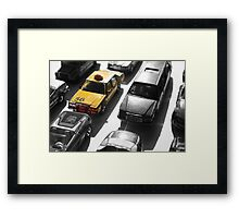 Traffic Framed Print