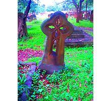 Celtic Cross - Camperdown Cemetery NSW Photographic Print