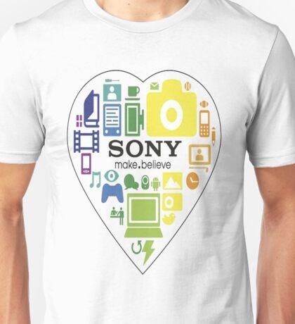 Sony fan shirt or stickers Unisex T-Shirt