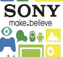 Sony fan shirt or stickers Sticker