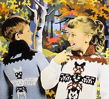Totem Sweaters by Bill Blair