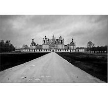 Chambord Chateau Photographic Print