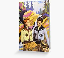 Paleface Paradise No.2 Greeting Card