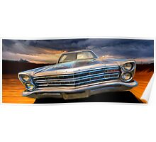 "1967 Galaxie ""The Messenger""  Poster"