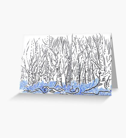 The forest for the Trees, an ACEO Greeting Card