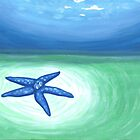Blue Starfish by Lynn Wright