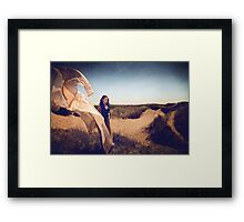 She Dreams In Colour Framed Print