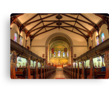 St. Andrew's Church Canvas Print