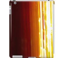 Light painted light speed Cars iPad Case/Skin