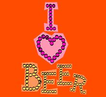 I love beer Unisex T-Shirt