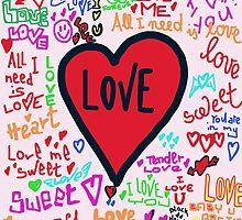 Love graffiti by Logan81