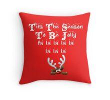 Tits The Season To Be Jolly Throw Pillow