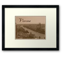 Verona Framed Print
