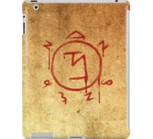Supernatural Angel Banishing Sigil iPad Case/Skin