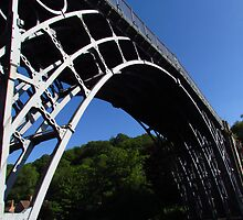Deep Blue Sky Above Ironbridge by wiggyofipswich