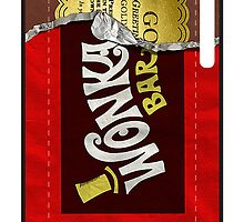 Wonka Bar Golden Ticker by BenjaminLake