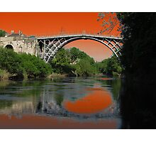 Ironbridge Furnace Photographic Print
