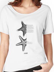 *G E O M E T R I A*  Starfish Women's Relaxed Fit T-Shirt