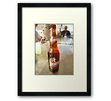 A liquid lunch... Framed Print