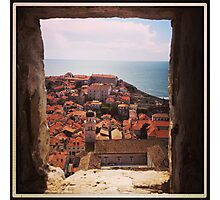 Old Town, Dubrovnik Photographic Print
