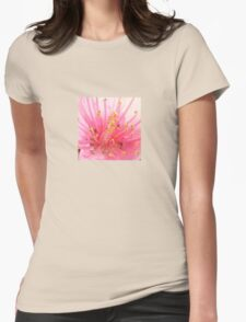 Pink Peach Pollen Macro Abstract T-Shirt