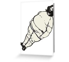 Fat Breakbot Greeting Card