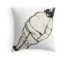 Fat Breakbot Throw Pillow