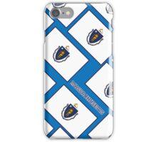 Smartphone Case - State Flag of Massachusetts - Diagonal III iPhone Case/Skin