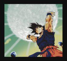 Dragonball Z Goku Spirit Bomb by vomitt