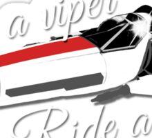 Save a viper... Sticker