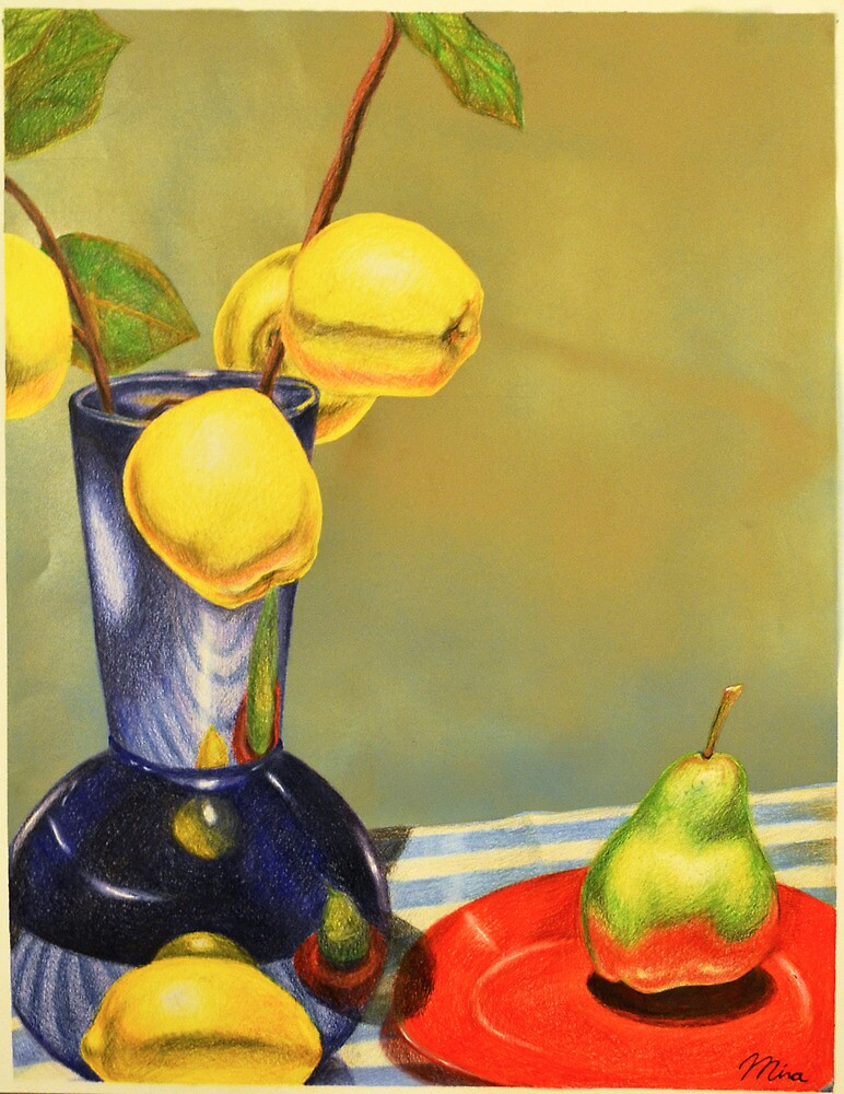 Apples, Lemon, Pear by mpark94
