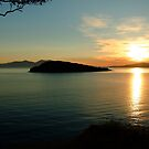 Sunset over Maiden Isle by Bootkneck