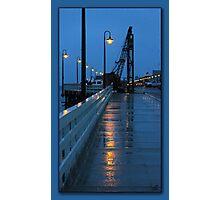 Santa Cruz Wharf Photographic Print