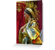 Our Lady of the Lilies Greeting Card