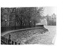 Jacqueline Kennedy Onassis Reservoir NY Poster