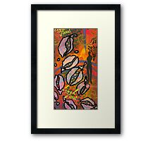 Glad to See You HAPPY Framed Print