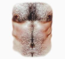 Hairy Chest by crazytees