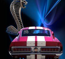 Shelby Cobra GT-500 by cthomas888