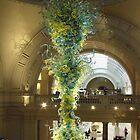 V&A Glass Sculpture by Stephanie Fay