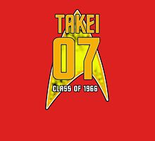 CLASS OF 1966: TAKEI Mens V-Neck T-Shirt