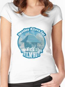 The Last Film Hut Women's Fitted Scoop T-Shirt