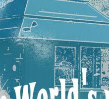 The Last Film Hut Sticker